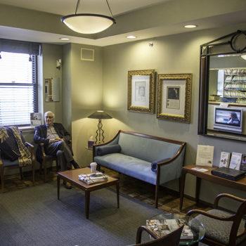 dr Paul Berson in Office