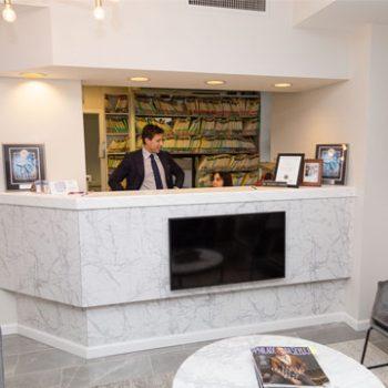 The Dental Spa receptionist area