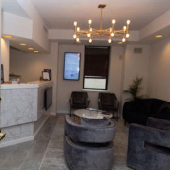The Dental Spa setting area